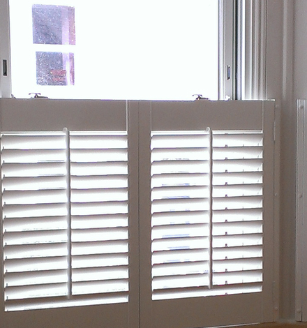 opening and folding shutters