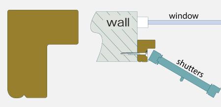 shutter frame options