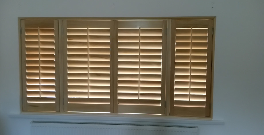 Fitted shutters